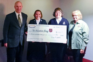 Berks-Schuylkill Oil Heat Association Donates $6,825 to the Salvation Army